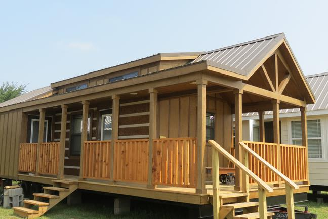 Rv Park Models Cottages Amp Cabins On Display In Rockwall